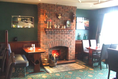 Halfway House Hotel Fireplace
